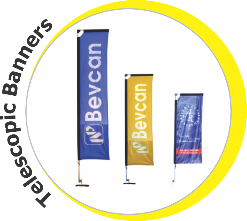 Telescopic Banners